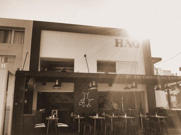 HAG sepia
