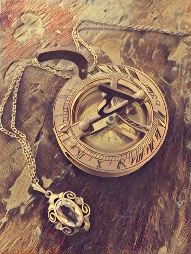 moondial necklace prisma