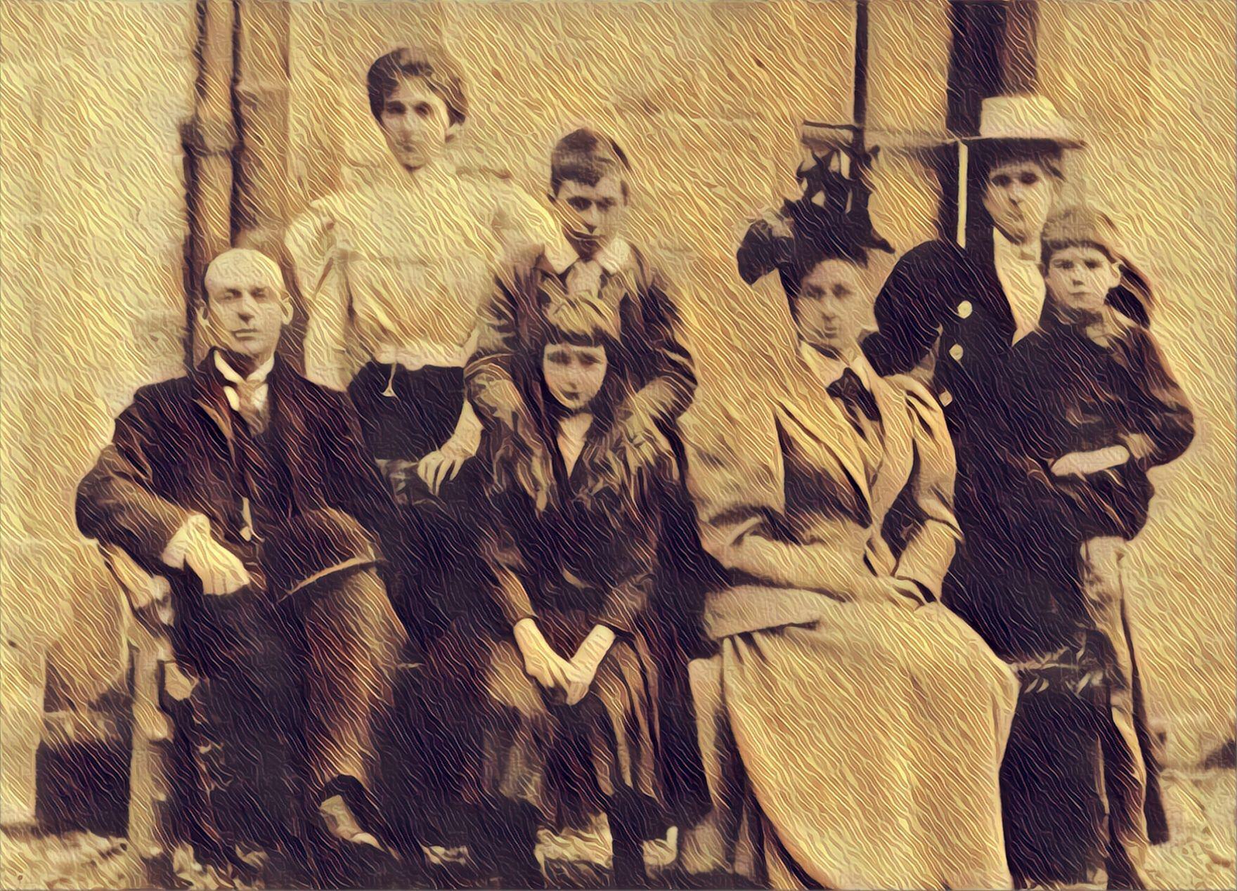 Henderson Family Portrait